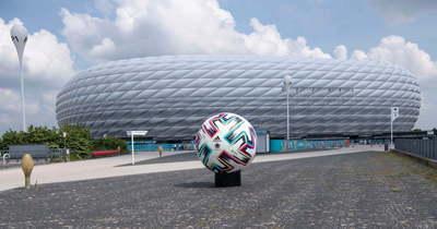 A müncheni stadion LMBTQ dekorációval várja a magyar labdarúgó válogatottat