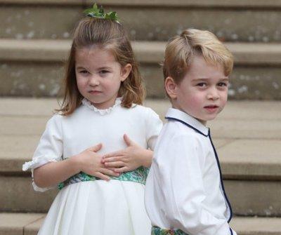 Friss fotók! Nem hiszed el, mekkorát nőtt György herceg és Sarolta hercegnő