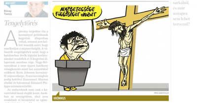 Vejkey Imre jogerősen pert nyert a karikatúra-ügyben