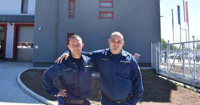 Bátorságukért tüntették ki a hős gyöngyösi tűzoltókat