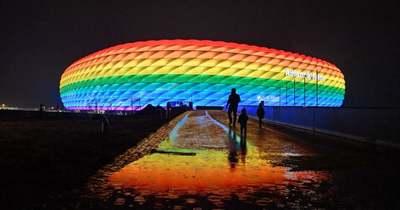 Az UEFA megtiltotta a szivárványos fényfestést a müncheni arénában