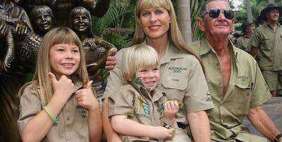 Néma drámák zajlottak Steve Irwin, a krokodilvadász családjában