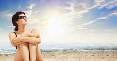 Ezt a meleget csak a strandon lehet kibírni