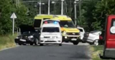Két autó ütközött össze Szarvason