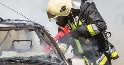 Autó égett Polgárdiban