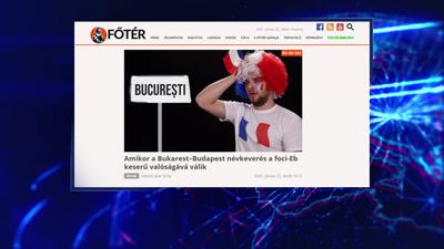 Budapest helyett Bukarestbe utaztak a francia szurkolók