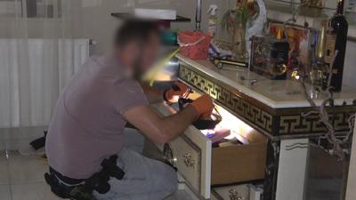Dúsgazdag kábítószer-kereskedőkre csaptak le a rendőrök - videó