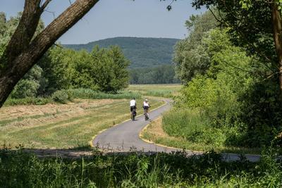 Még tovább bővült a bicikliút a Dunakanyarban