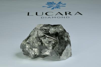 Brutális nagyságú gyémánt került elő egy afrikai bányából
