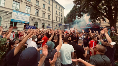 Több magyar szurkolót is vegzáltak a német hatóságok