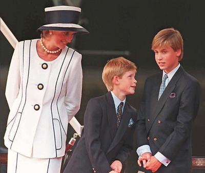 Harry és Vilmos nem tartották be ígéretüket, melyet gyerekkorukban édesanyjuknak tettek