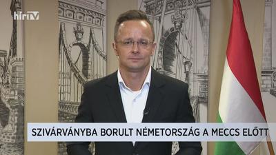 Szijjártó Péter: Arra kérem a magyar futballszurkolóknak Münchenben, hogy semmiféle provokációnak ne üljenek fel
