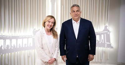 Orbán Viktor az Olasz Testvérek elnökével tárgyalt Brüsszelben