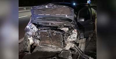 Brutális baleset: 170-el robbant bele a vétlen autósba az M7-esen - Videó