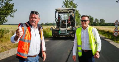 730 millió forintot fordítanak útépítésre a Körmend–Ják–Harasztifalu-Nagykölked vonalon
