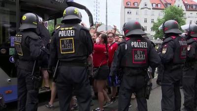 A bajor hatóságok a jogszerűség határát súrolva jártak el