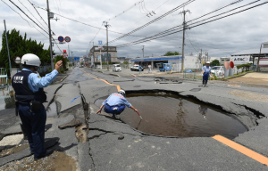 Halálos áldozatokkal járó földrengés volt Oszakában