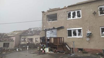 Tornádó csapott le Csehország és Szlovákia határán - fotók