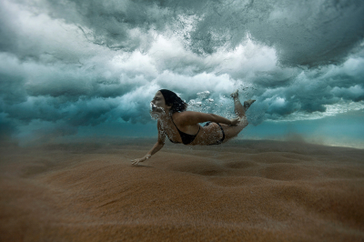 Baromi ügyes művészi fotók a tenger mélyéről