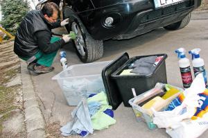 Megúszni szárazon? – Autómosás víz nélkül