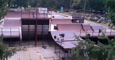 BMX freestyle ob Debrecenben