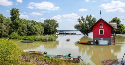 Tetőzött a Duna vízállása Paksnál