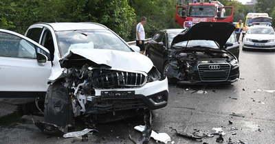 Brutális baleset történt a XIX. kerületben, a Ferihegyi repülőtérre vezető úton