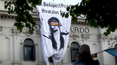 Az Identitás Generáció is kilátogatott a Pride-ra (videó)