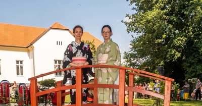 Japán kertet avattak a devecseri kórház udvarán