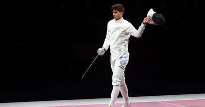 Siklósi Gergely ezüstérmet nyert párbajtőrben az olimpián