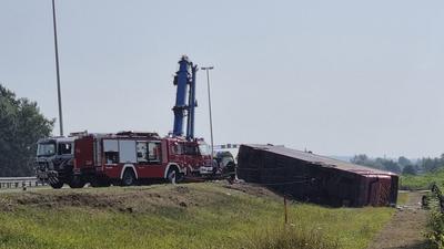 Halálos buszbaleset történt egy horvátországi autópályán