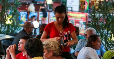 Hétköznap jóval kevesebb a látogató a Balatonnál