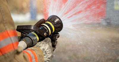 Hétvégén is akadt munkájuk a tűzoltóknak