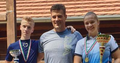 Junior bajnoki cím és ezüst a MátraHegyi Sportlövő SE fiataljainak