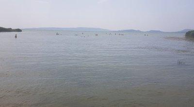 Megrázó fotók: Itt fulladt a Balatonba a 13 éves Zoltán és 17 éves testvére, Tamás