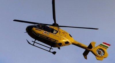 Most jött: Nagy a baj Makónál, mentőhelikoptert riasztottak