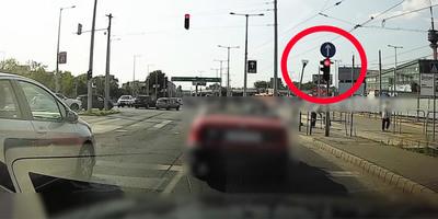 Elképesztő videó, hat percen belül négy piroson hajtott át egy autós Budapesten