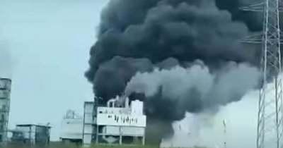 Most érkezett! Robbanás történt egy veszélyes vegyipari gyárban – Videó!