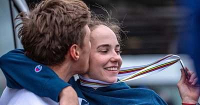 Szerelmes a szerelőjébe az olimpián berobbant magyar bringás lány