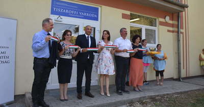 Tizenhat főnek biztosít munkát az új varroda Tiszaroffon