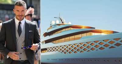 Botrány! Az olasz tengeren csaptak le a rendőrök Beckhamékre – Fotók!