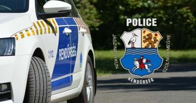 Körözött autót kapcsoltak le a rendőrök Jászalsószentgyörgynél