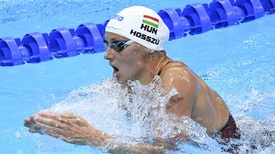Hosszú Katinka hetedik a 200 méter vegyes döntőjében