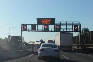 Két évig lesz forgalomkorlátozás az M0 déli szakaszán