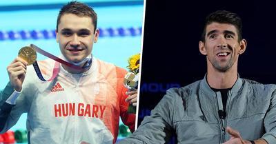 Tokió 2020: Michael Phelps üzent Miláknak az olimpiai döntő után