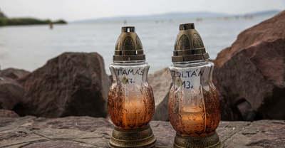 Balatonba fulladt testvérpár: szívszaggató döntést hozott a gyászoló édesapa