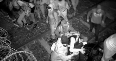 Gázspray-vel támadtak katonáinkra és rendőreinkre az illegális migránsok