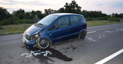 Balesetet okozott, majd az úton hagyta az autót a sofőr