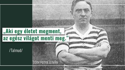 Kubatov Gábor (Facebook): 130 éve, hogy megszületett Tóth Potya István, focicsapatunk korábbi játékosa és edzője