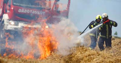 Három településről is riasztották a tűzoltókat